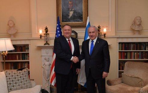 שר החוץ האמריקני פומפאו: ההחלטה על החלת החוק הישראלי לסיפוח – של ישראל