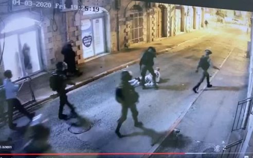 """תקיפת העורך דין בשכונת מאה שערים: שני שוטרי מג""""ב נחקרו במח""""ש"""