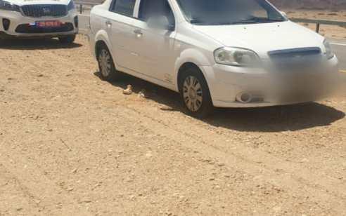 המאבק בקורונה: בן 15 אותר נוהג ברכב על כביש 90 ולצידו נוסע חולה מאומת