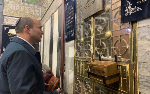 שר הביטחון נפתלי בנט אישר סופית: תחל הנגשת מערת המכפלה