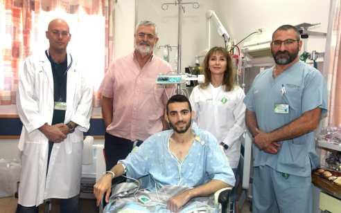 בשורה משמחת: שאדי איבראהים, החייל שנפצע לפני כשבועיים בפיגוע דריסה, השתחרר היום מסורוקה ועבר לשיקום
