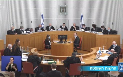 """בג""""ץ דחה את העתירות נגד נתניהו ונגד ההסכם הקואליציוני"""