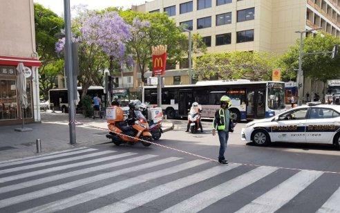 הולכת רגל בת 63 נפגעה מאוטובוס בתל אביב – ונהרגה