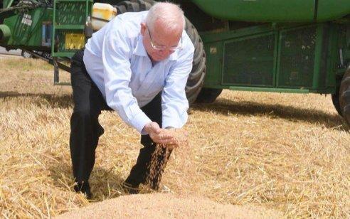 """נשיא המדינה לחקלאי עוטף עזה: ״בלי חקלאות אין עצמאות בישראל"""""""