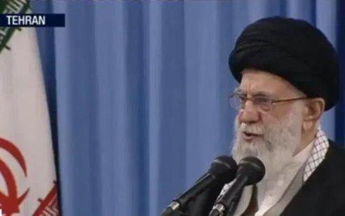 """מנהיג איראן חמינאי: """"ישראל היא גידול סרטני במזרח התיכון"""""""