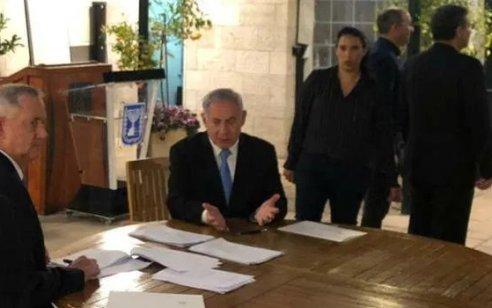הסכם האחדות: הליכוד וכחול לבן סיכמו לפעול בתיאום בתשובות לעתירות נגד ההסכם הקואליציוני