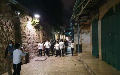 """יהודים הותקפו ע""""י שוטרים – במהלך סיבוב שערים"""