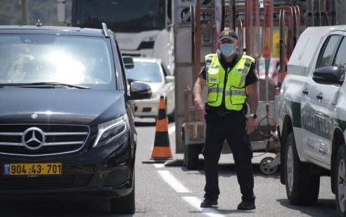 """במהלך השבוע נרשמו כ-7,300 דו""""חות בגין עבירות מסכנות חיים ובריונות כביש"""