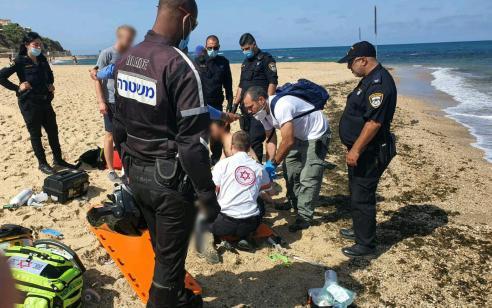 בת 60 טבעה בחוף עליה שניה בתל אביב – מצבה אנוש