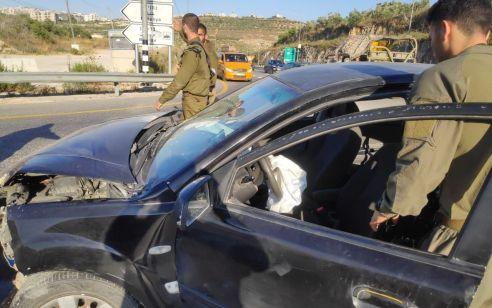 חמישה פצועים קשה בינוני וקל בתאונה סמוך לקדומים