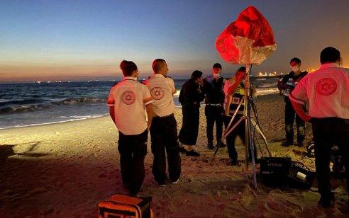 חיפושים אחרי נער בן 14 שנכנס לים בחוף הקשתות באשדוד ונעלם