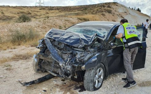 גבר בן 63 נהרג בתאונה סמוך לצומת גורל