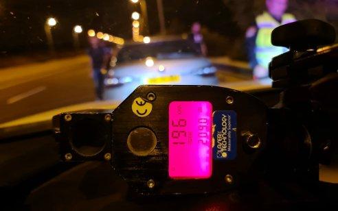 """בן 19 נתפס במהירות 196 קמ""""ש בכביש 90 – רישיון הנהיגה שלו נפסל והוא נשלח למעצר בית"""