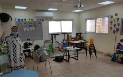 קורונה במערכת החינוך: 506 תלמידים ומורים חולים, 183 מוסדות סגורים, 25,669 מורים ותלמידים בבידוד