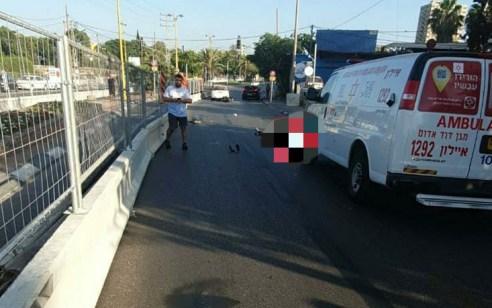 הרוג שלישי מהבוקר: רוכב אופנוע כבן 30 נהרג בתאונות דרכים בחולון