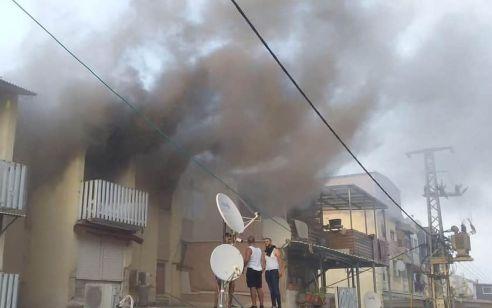 הרוג ו-5 נפגעים בשריפה בבניין מגורים בכפר ג'דיידה-מכר