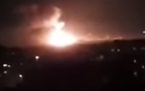 """שוב פיצוצים נשמעים סמוך לטהרן: עפ""""י השלטון האיראני מדובר בצינורות גז – אדם אחד נפצע"""