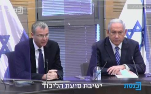 """נתניהו בישיבת סיעת הליכוד: """"אין שום סיבה ללכת לבחירות – ישראל צריכה תקציב"""""""