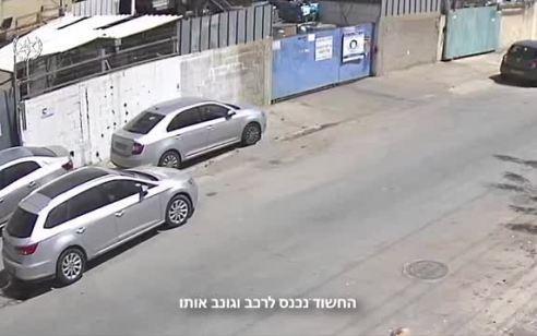 אישום: גנב 12 כלי רכב במרכז הארץ והעביר אותם לשטחי הרשות – צפו בתיעוד