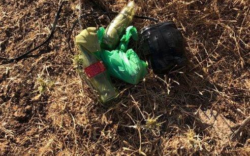 """סוכל פיגוע: צה""""ל עצר חולייה של 4 מחבלים עם בקבוקי תבערה ומטען חבלה סמוך לשכם"""