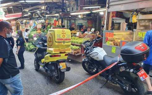 נער כבן 16 נפצע קשה מדקירה במהלך קטטה בשוק הכרמל בתל אביב – חשוד נעצר