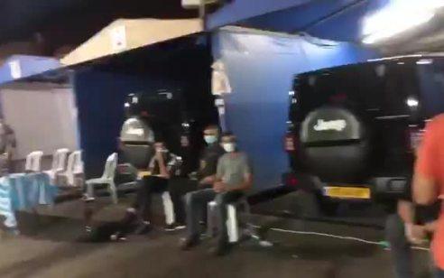 שישה נעצרו ומעל 50 דוחות נרשמו במסיבת רבת משתתפים שהתקיימה בעסק לשטיפת רכבים בישוב אזור