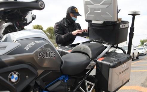 מתחילת השנה נתפסו 2,551 נהגים שנעו בכבישים מבלי שהוציאו רישיון נהיגה