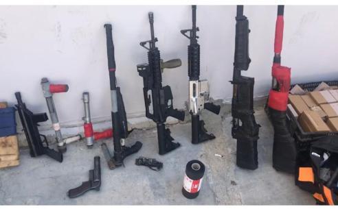 הצהרת תובע נגד תושב ירכא שהחזיק 10 כלי נשק, אמצעי לחימה שונים ומעל 10,000 כדורי תחמושת
