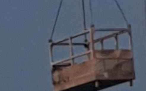 פועל בן 48 נהרג כשנפל ממנוף בנמלאשדוד