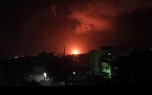 בתגובה לירי הרקטה הערב: צה״ל תקף תשתית תת קרקעית של חמאס ברצועת עזה