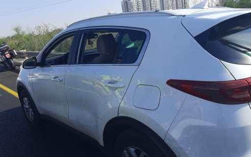 נהג ניסה להימלט, ניגח רכבים ונעצר במחסום משטרתי – ברכבו נתפס חומר החשוד כמריחואנה