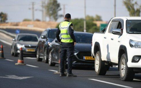 """במהלך השבוע נרשמו כ-5,000 דו""""חות תנועה, מתוכם כ-1,200 בגין שימוש בנייד בזמן נהיגה"""