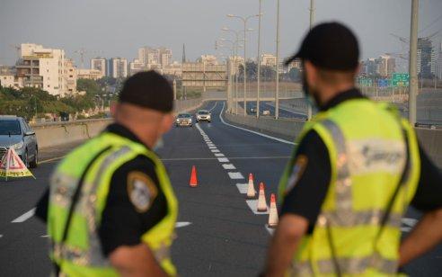 """במהלך סופ""""ש נרשמו כ-3,200 דו""""חות תנועה, מתוכם כ-1,000 בגין  נהיגה במהירות חריגה"""