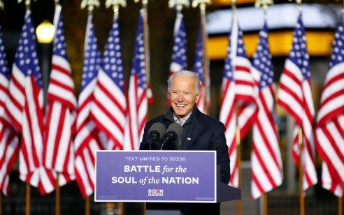 מתקרבים להכרעה: ג'ו ביידן מוביל גם בפנסילבניה