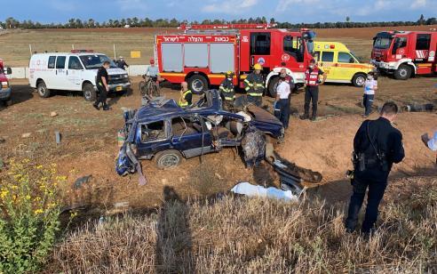 גבר בן 43 נהרג לאחר שרכבו נפגע מרכבת סמוך לשפיים – תנועת הרכבות באזור הופסקה 