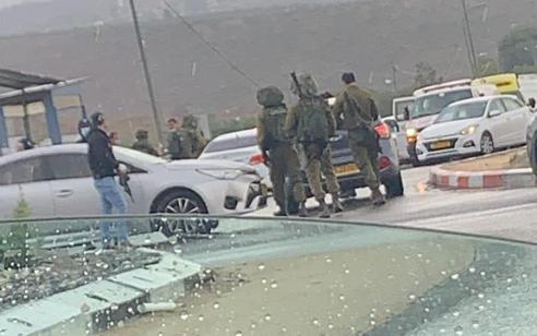 ניסיון פיגוע: מחבל שלף אקדח בכיכר חטמר שומרון – ונוטרל