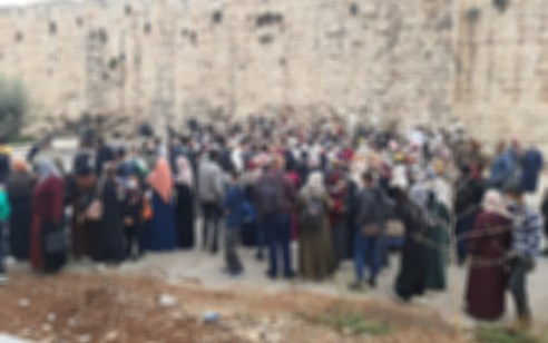 כאלפיים שוהים בלתי חוקיים נתפסו בחומות העיר העתיקה בדרכם להר הבית – מאות הוחזרו לשטחים
