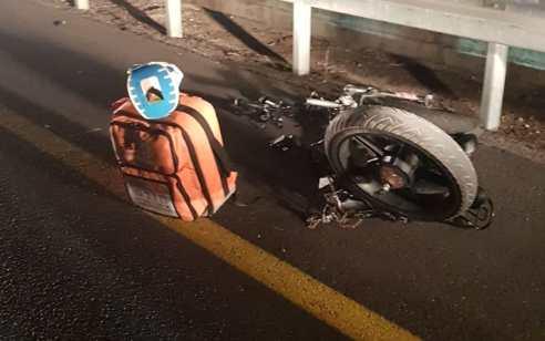 פועל זר שרכב על אופניים נפצע אנוש מפגיעת רכב בכביש 553
