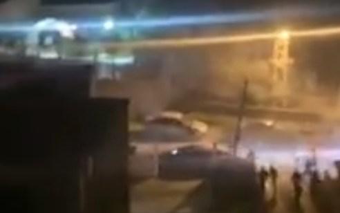 תיעוד: 19 חשודים נעצרו בקטטה עם יריות באוויר בכפר כאבול