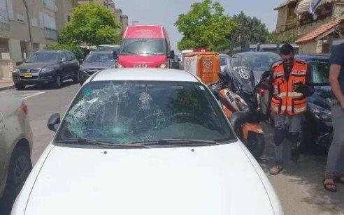 ילד בן 5 נפצע קשה בתאונת דרכים בישוב עינב שבמועצה האזורית שומרון