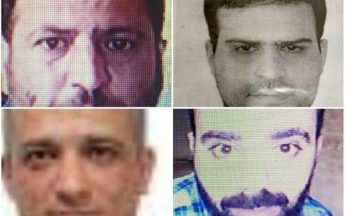 """המודיעין האיראני פרסם תמונות של 4 """"חשודים"""" בחיסול ביום שישי"""