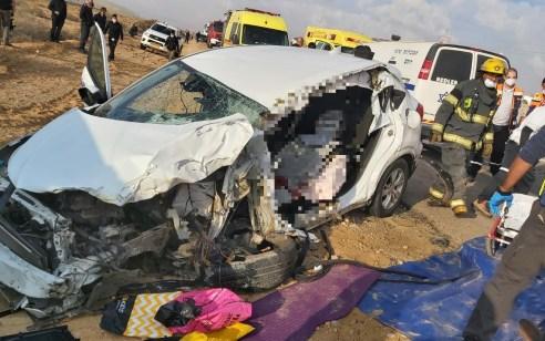 הקטל בכבישים: הרוג כבן 50 בתאונה בין משאית לרכב בצומת צפית