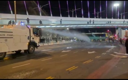 """מכתזיות ועימותים: מעל 20 עצורים במחאות על הרג אהוביה סנדק ז""""ל"""