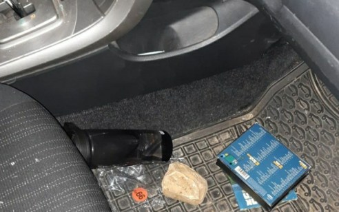 בן 25 נפצע קל ברכבו בפיגוע אבנים סמוך לכפר חווארהבשומרון
