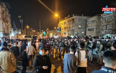 """המחאה על הרג אהוביה סנדק ז""""ל בידי שוטרים: אלפים הפגינו ברחבי הארץ – 40 נעצרו"""