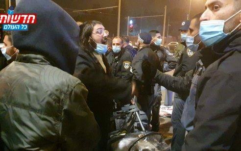 """האב שתינוקו נחטף ממנו במהלך ההפגנה – מגיע לדיון בבימ""""ש השלום בי""""ם"""