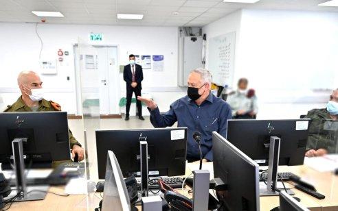שר הביטחון בני גנץ כינס פורום מומחי קורונה להיערך לתכנית יציאה מהסגר