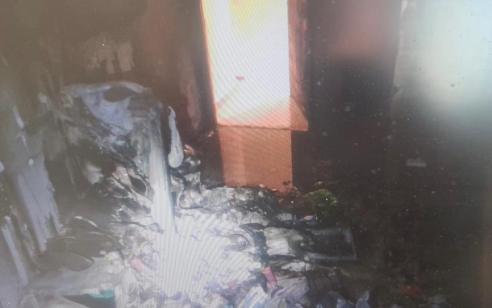 המשטרה עצרה אתמול שני תושבי נהריה כבני 20 בחשד שהציתו מחסן בעיר