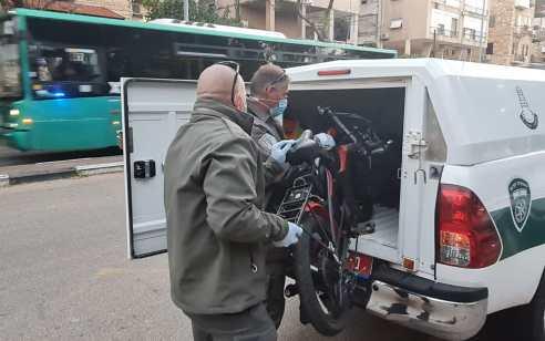 המשטרה תפסה 2 חשודים שגנבו 9 אופניים מסוגים שונים באזור עמק הירדן