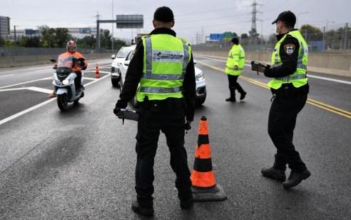 """במהלך השבוע נרשמו כ- 4,500 דו""""חות תנועה בדגש לעבירות מסכנות חיים ובריונות כביש"""